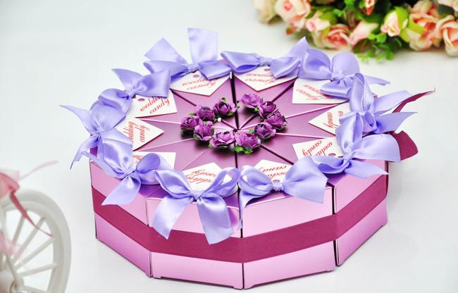 手绘花束盒包装