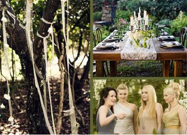 森系婚礼灵感 户外森林主题婚礼策划方案