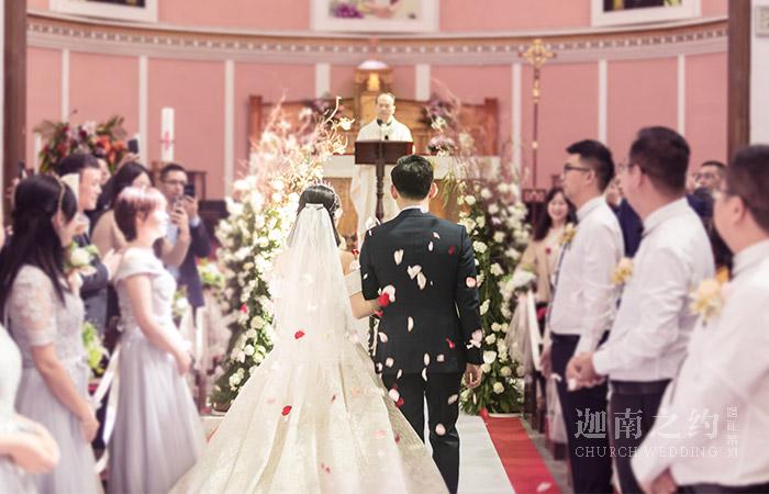 宜昌教堂婚礼策划案例_挚爱一生